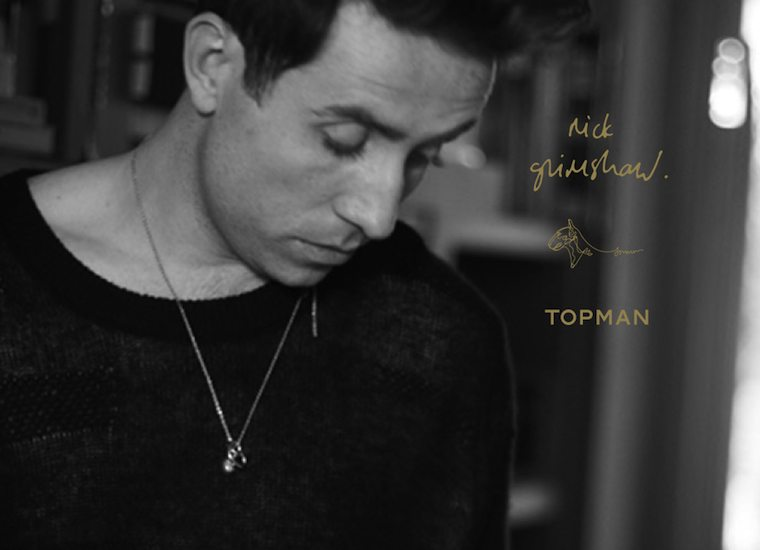 Nick Grimshaw's debut collection with Topman has the X Factor