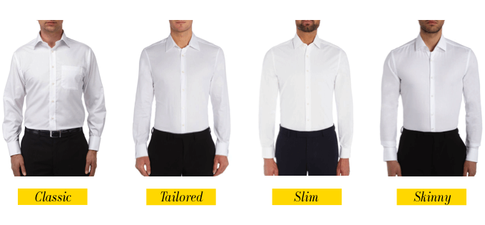 Slim Fit Mens Dress Shirts