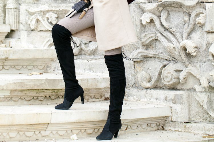 How to Wear: Over The Knee Boots