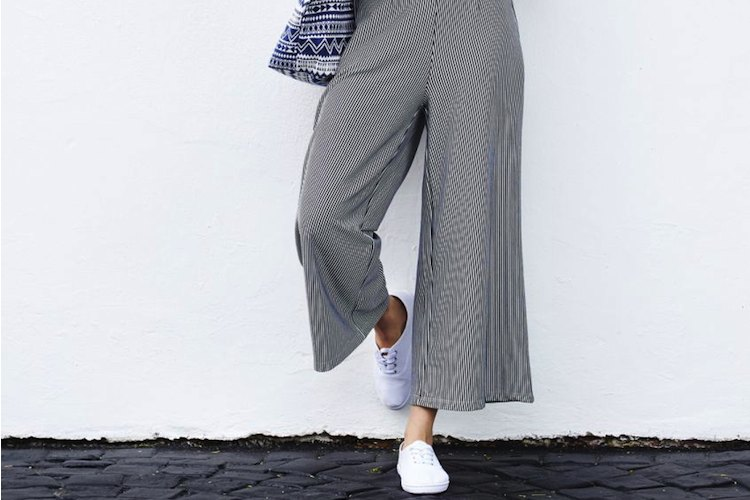 How To Wear: Wide Leg Trousers