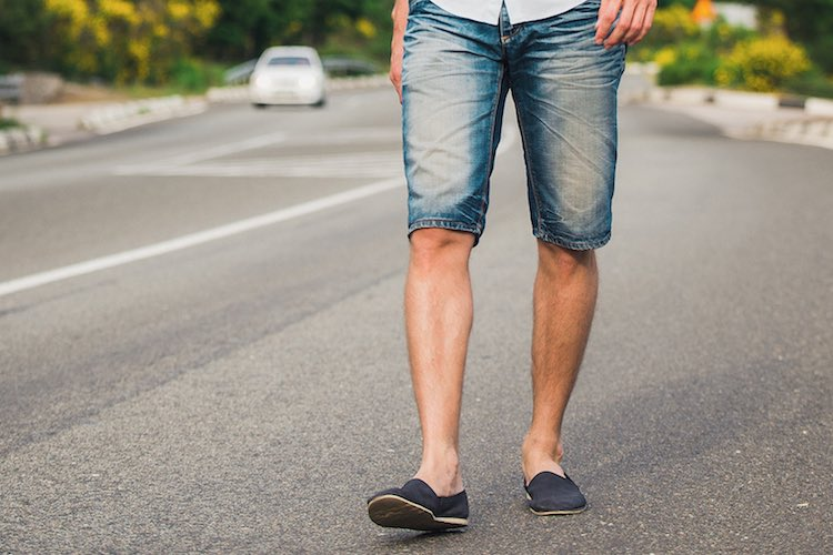 The Best Shoes to Wear with Denim Shorts