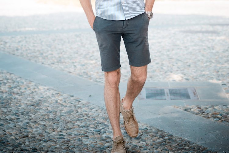 The Best Shoes to Wear with Tailored Shorts