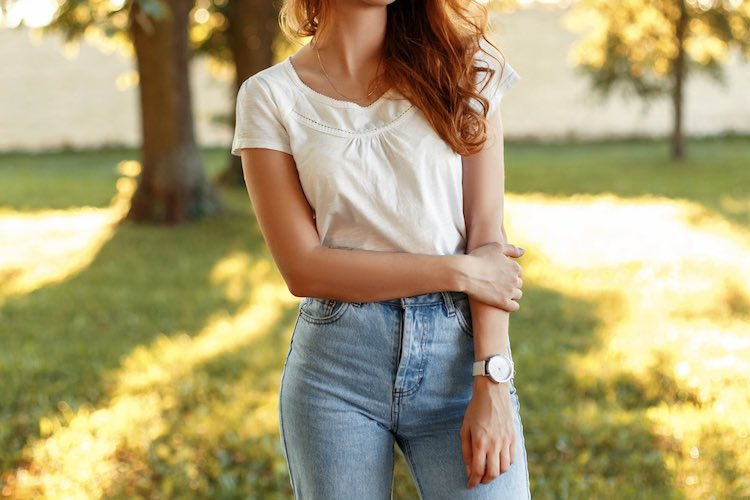 How to Wear: High Waisted Jeans