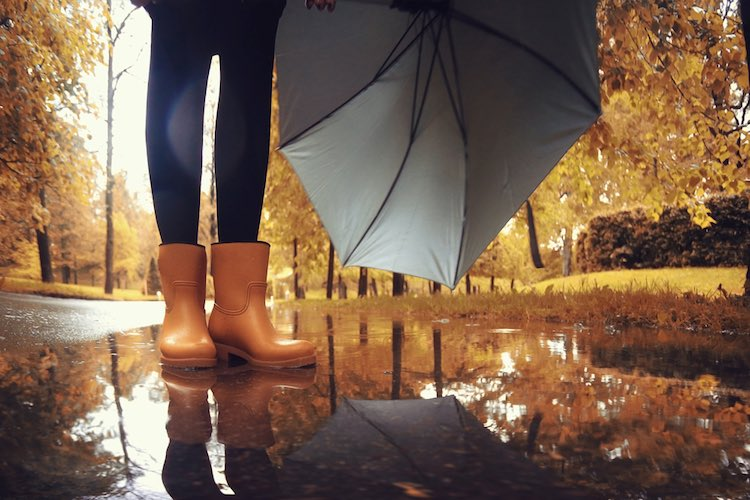 5 Ways To Style: Wellies In Winter