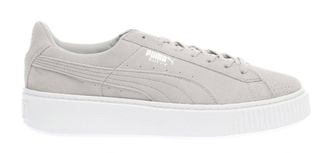 puma trainers womens with bow