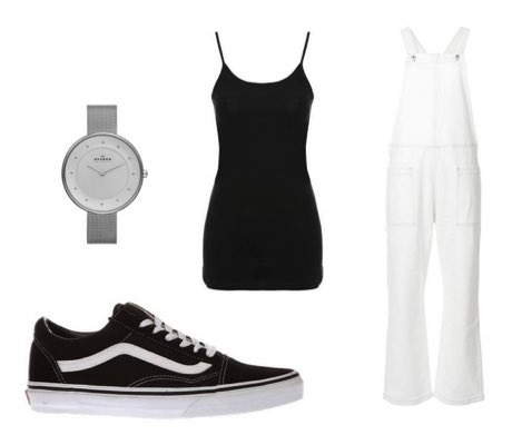 outfits with black vans