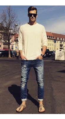 How To Wear Birkenstocks Men S Outfit Ideas Amp Style Tips