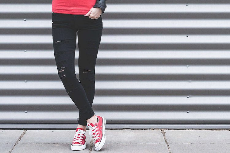 How To Wear: Converse Trainers