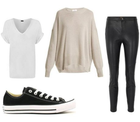 How To Wear Converse - Women's Outfits