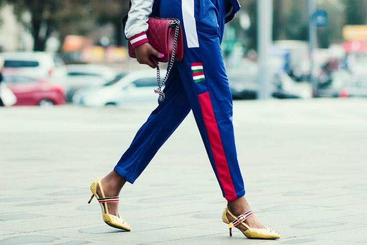 How To Wear: Metallic Shoes