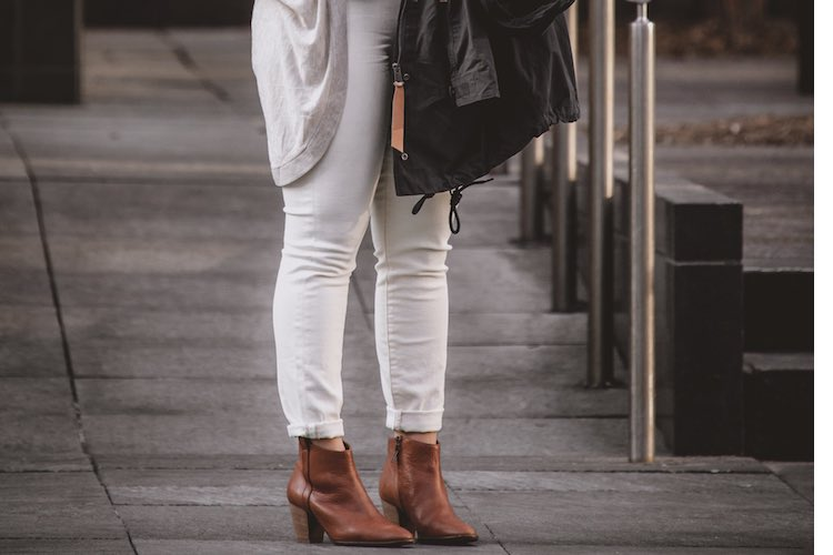 How To Wear: White Denim