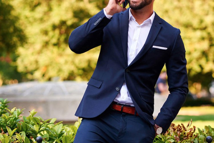 30 Ways To Wear: Navy Suits
