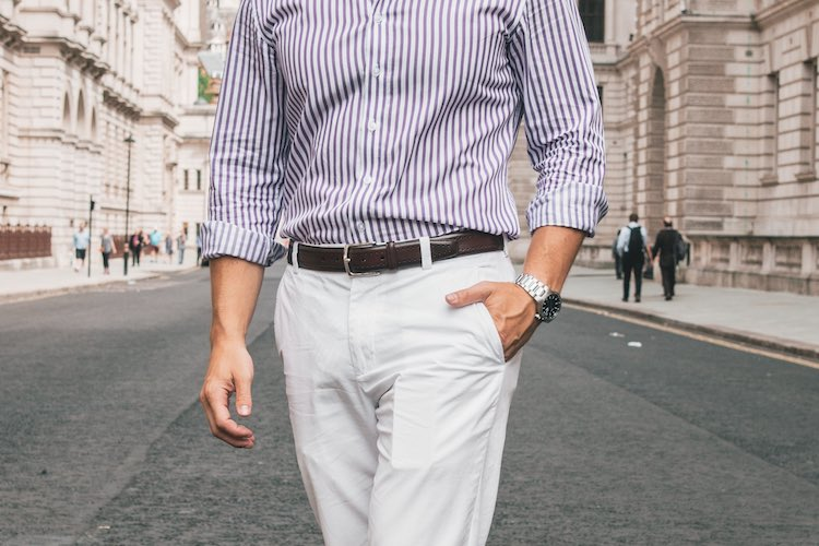 Step into Spring with White Denim & Chinos