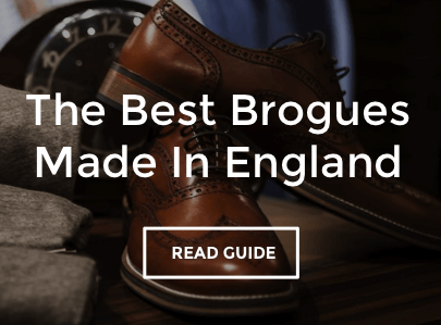 Men's Brogues Made In England