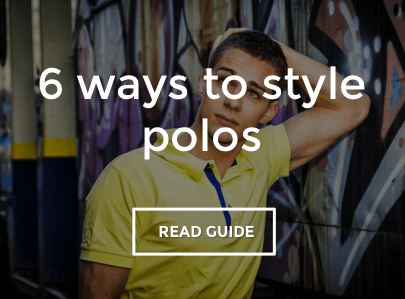 How to style men's polo shirts
