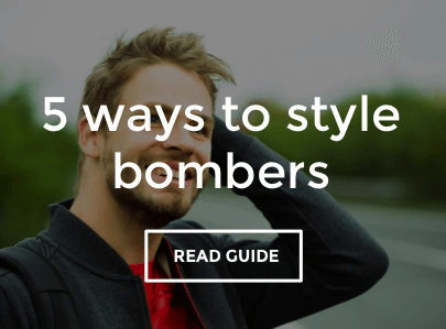 5 ways to style men's bomber jackets