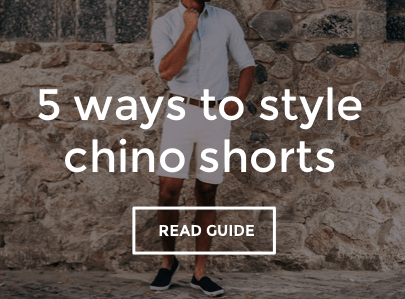 Men's Chino Shorts Style Guide