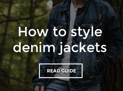 Men's Denim Jacket Style Guide
