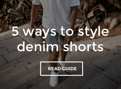 Men's Denim Shorts Style Guide