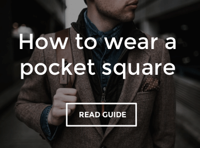 Hot Drops Guide to Wearing a Pocket Square