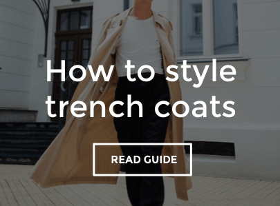 Men's Trench Coat Style Guide