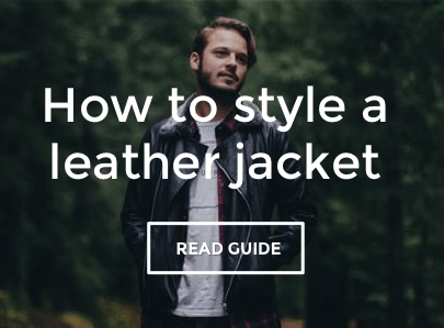 Guide to Styling a Leather Jacket