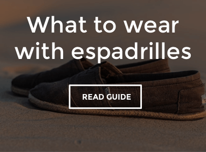 What To Wear With Men's Espadrilles