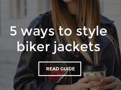 Women's Biker Jacket Style Guide
