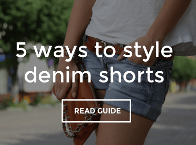 Women's Denim Shorts Style Guide